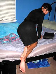 Stockings, Asian feet, Asian stockings, Asian milf, Asian wife