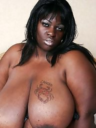 Ebony bbw, Ebony boobs