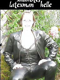 Mature, Latex, Leather, Mature latex, Mature leather, Milf leather
