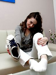 Teen stockings, Smell, Sneakers