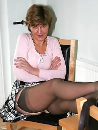 Mature, Kitchen, Uk mature, Fun