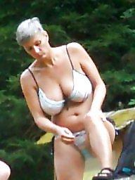 Busty mature, Busty, Mature bikini, Bikini mature, Mature busty