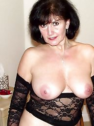 Lady, Ladies, Mature lady, Mature boob