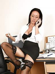 Upskirt, Office, Ladies, Officer