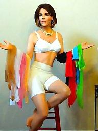 Girdle, A bra, Vintage girdle, Vintage tits, Girdle stockings
