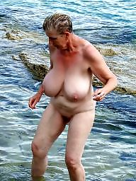 Beach, Mature beach, Mature tits, Beach mature, Beauty, Beautiful mature
