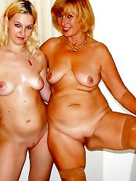 Aunt, Mature lesbian, Old and young, Mature lesbians, Young girl, Young and old