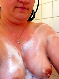 Shower, Wife, Mature shower, Hot mature, Hot wife, Milf mature