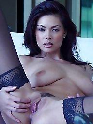 Classy, A bra, Beauty, Black stocking