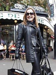 Latex, Leather, Pvc, Boots, Mature boots, Mature latex