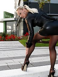 High heels, Tight, Tights, Stockings heels, High