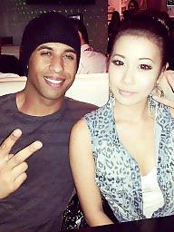 Asian, Amateur black, Asian interracial