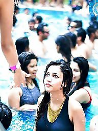 Indian, Party, Pool, Indian teen, Indians