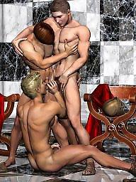 Gay, Art, Gay cartoon, Gays