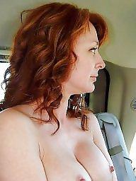 Car, Cars, Voyeur mature, Mature women, Mature car
