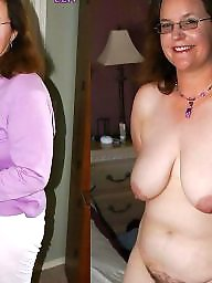 Granny, Dressed undressed, Dress, Mature dress, Dressed, Amateur granny
