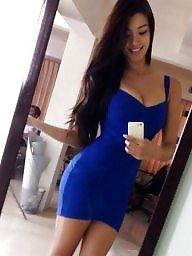 Skirt, Dressed, Upskirt, Tight dress, Tight skirt, Tights