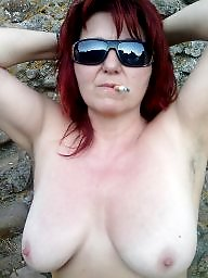 Redhead wife, Wife