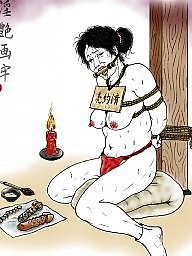 Asian bdsm, Bdsm cartoon