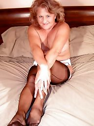 Mature stocking, Old milfs