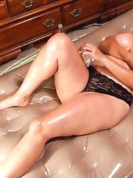Oiled, Oil, Bbw amateur, Bbw boobs, Big mature, Ups