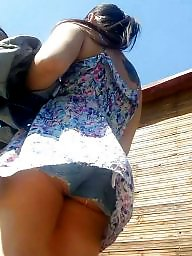 Jeans, Shorts, Skirt, Romanian, Short, Hidden cam