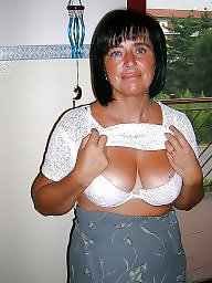 Downblouse, Mature bikini, Mature downblouse, Underwear, Mature dress, Dressed