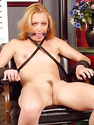 Bound, Tied, Flashing tits, Tied tits, Tit bdsm