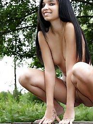 Flash, Naked, Hot girl