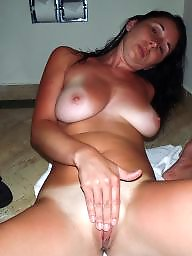 Milf, Beach, Busty, Holiday, Busty milf, Private