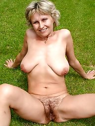 Mature granny, Grab