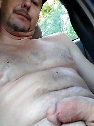 Car, Voyeur, Nude, Posing, Cars