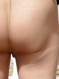 Pantyhose, Nylon, Outdoor, Bisexual, Pantyhose upskirt, Outdoors