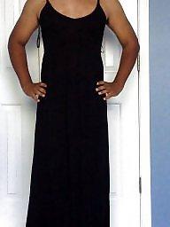 Black, Dressed, Ebony ass