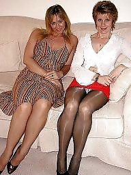Mature pantyhose, Pantyhose mature, Ladies, Amateur pantyhose