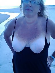 Wife, Beach, Mature beach, Wifes, Public matures, Beach mature