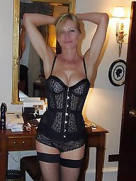 Lingerie, Mature lingerie, Stocking mature, Tits, Mature tits