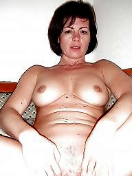 Russian, Big, Russian milf, Whore, Russian boobs, Flashing boobs