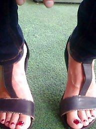 Feet, Milf feet, Candid feet
