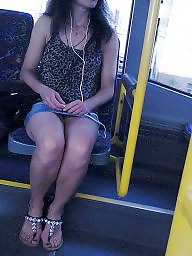 Turkish, Skirt, Legs, Teen feet, Candid, Turkish teen