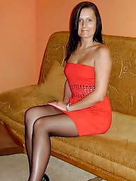 High heels, Heels, Tights, Upskirt stockings, High