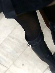 Legs, Nylons, Spy, Hidden, Romanian, Leg