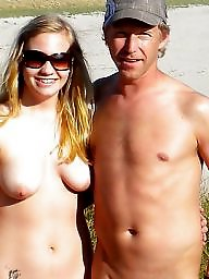 Public, Nudist, Couple, Couples, Mature nudist, Couple amateur