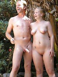 Caught, Nude beach, Nude, Erection, Voyeur beach, Beach voyeur