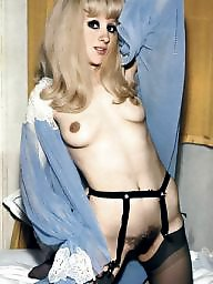 Retro, Hairy pussy, Natural, Vintage hairy