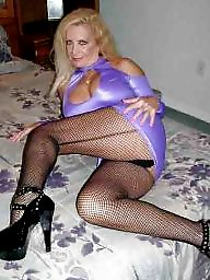 Purple, Stocking milf