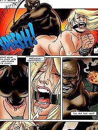 Cartoon, Cartoons, Interracial cartoons, African, Interracial cartoon, Bdsm cartoon