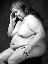 Mature bbw, Art, Black bbw, Mature black, White