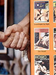 Magazine, Strip, Vintage hairy, Stripped, Stripping, Magazines