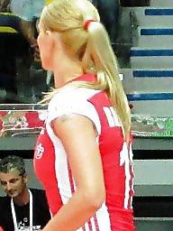 Polish, Blonde, Volleyball, Blonde porn